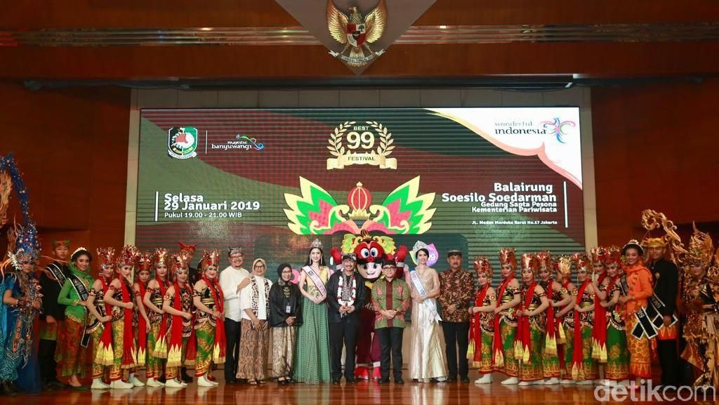 Banyuwangi Festival Kembali Dibuka, 30 Atraksi Bidik Kaum Milenial