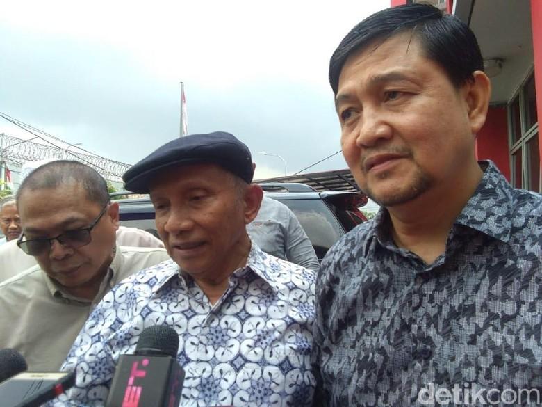 Amien Rais Terkejut Lihat Ahmad Dhani di Cipinang, Kenapa?