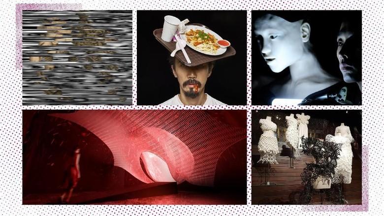 Seni Digital Interaktif Hiasi Kawasan Museum Nasional Singapura