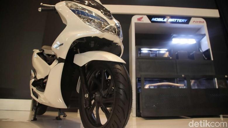 Honda PCX Listrik Foto: Pradita Utama