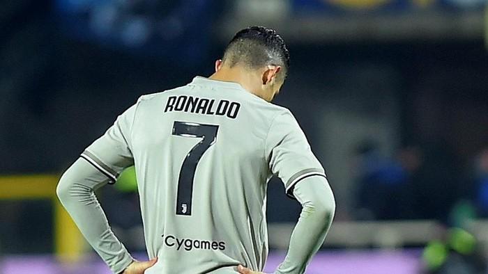 Ronaldo yang masih bersinar di usia 34 tahun (Foto: Reuters)