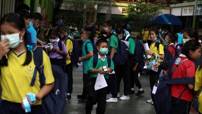 Anak-anak yang tumbuh di lingkungan berpolusi udara tinggi rentan mengalami masalah kesehatan jiwa. (Foto ilustrasi: Reuters)