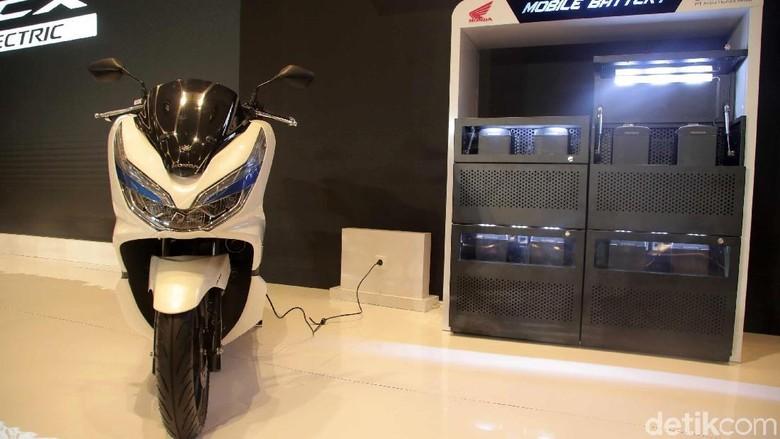 Honda PCX Electric Foto: Pradita Utama