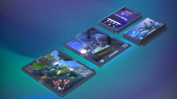Ponsel gaming layar lipat Samsung