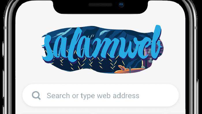 SalamWeb, browser syariah buatan startup Malaysia. (Foto: Dok. SalamWeb)
