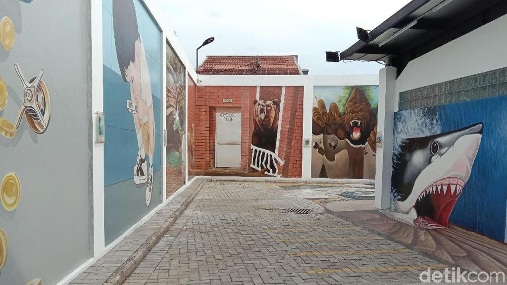 Station Mode, Spot Foto Mural 3D di Bandung