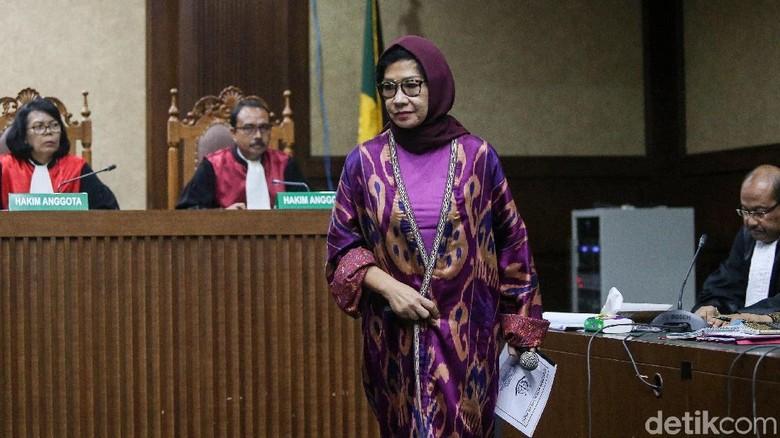 Divonis 8 Tahun Penjara, Karen Agustiawan: Innalillahi Wainnailaihi Rojiun