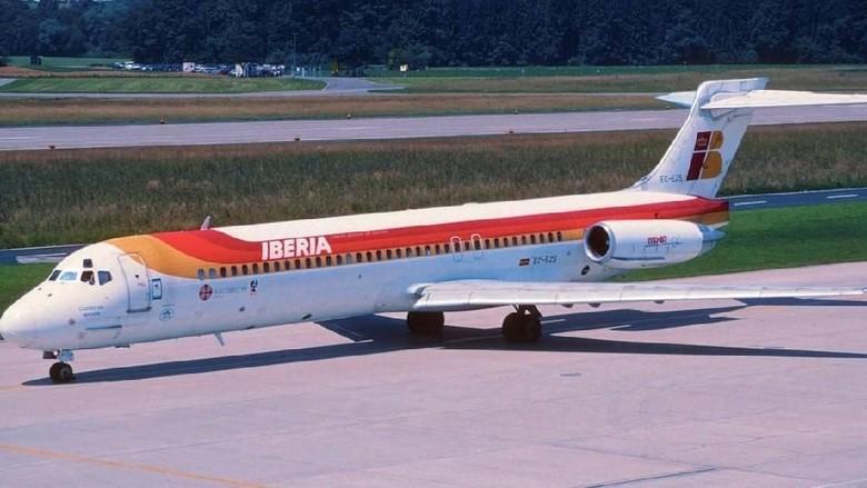 Pesawat hantu di Bandara Barajas, Madrid (dok. Aero Icarus)