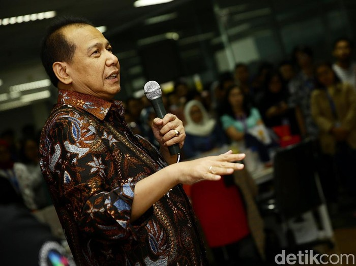 Founder & Chairman of CT Corp Chairul Tanjung  (Foto: Muhammad Ridho)