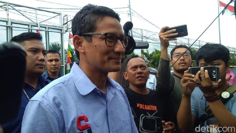 Sandiaga Uno Foto: Lisye Sri Rahayu/detikcom