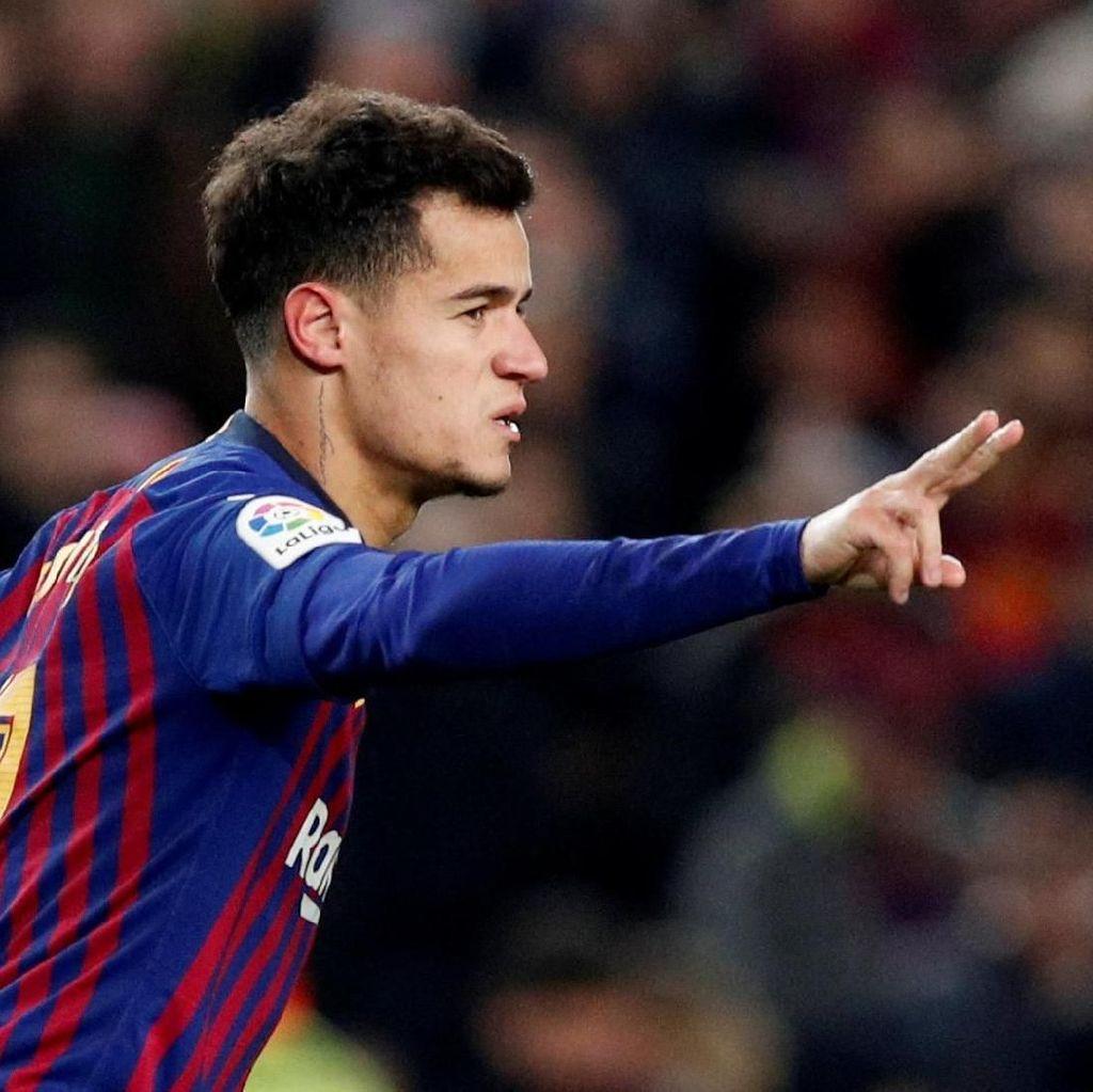 Buka Peluang Jual Coutinho, Barcelona Pasang Harga Rp 1,6 Triliun