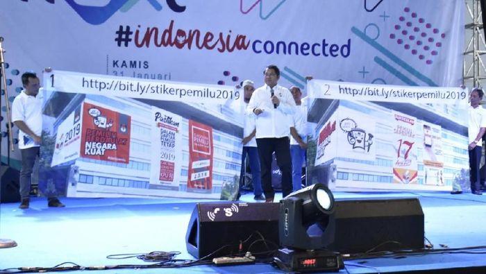 Foto: Menkominfo Rudiantara saat Kominfo Next (Dok. Kemkominfo)