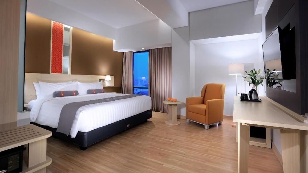 Hotel Bintang 4 Baru yang Strategis di Pusat Kota Palembang