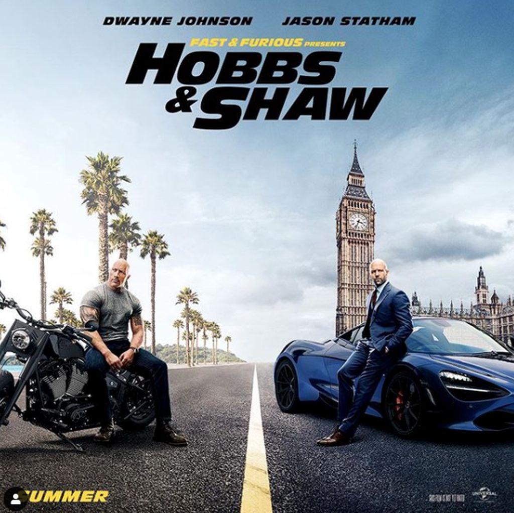 Tak Lagi Cuma Kejar-kejaran Mobil di Trailer Anyar Hobbs and Shaw