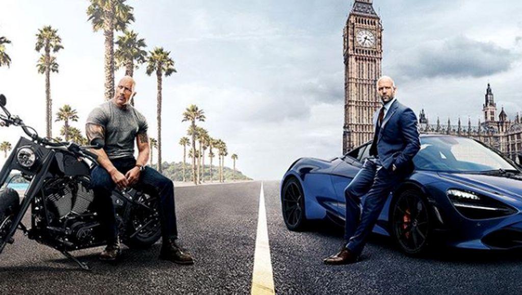 McLaren Diajak Ngedrift di Kolong Truk dalam Film Hobbs & Shaw