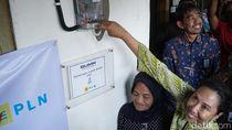 Lebih 128 Ribu Warga Miskin di Jatim Dapat Sambungan PLN Gratis