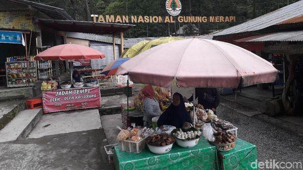 Situasi sekitar TN Merapi