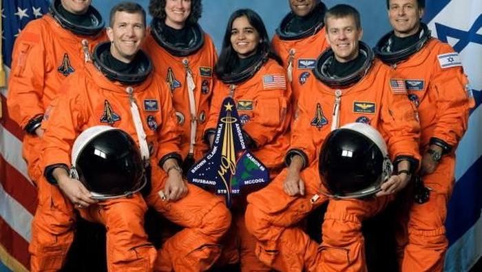 Astronot korban ledakan Columbia. Foto: Getty Images