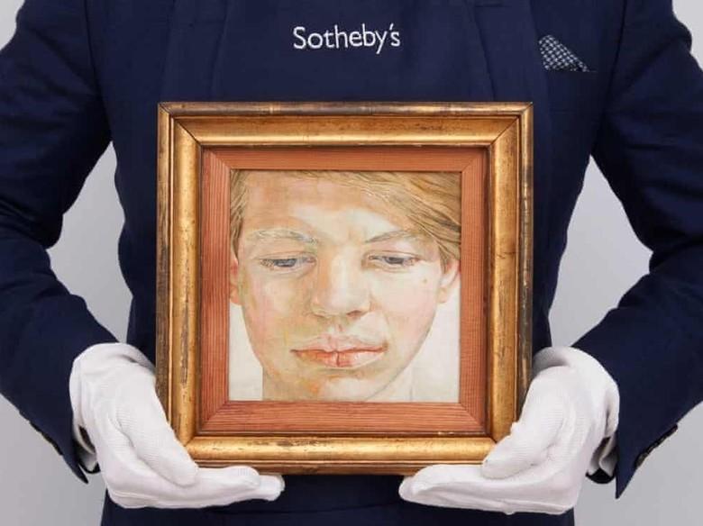 Lukisan Lucian Freud Milik Pewaris Pengusaha Bir Dilelang Rp 119 M