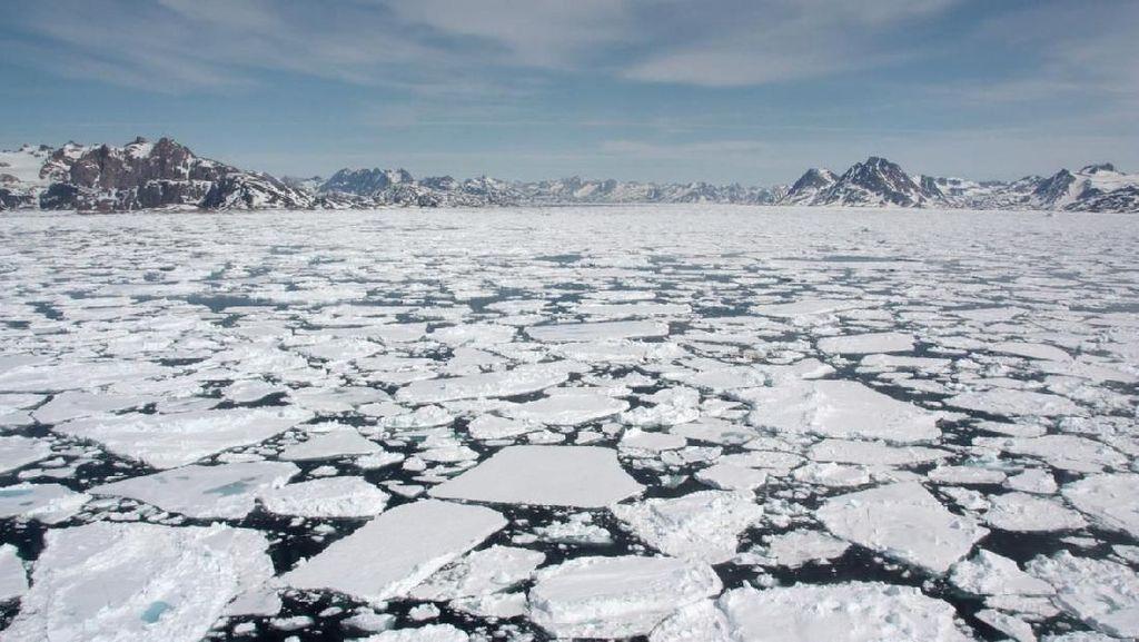 Gelombang Panas Ancam Lelehkan Miliaran Ton Es di Greenland