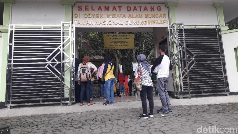 SItuasi TN Merapi Foto: Ristu Hanafi/detikTravel