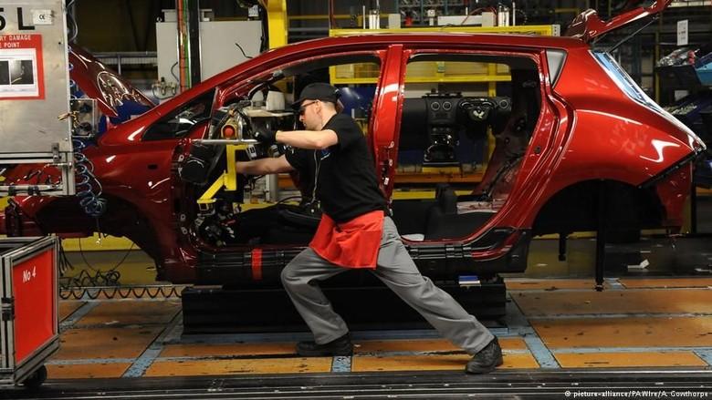 Gara-gara Brexit, Investasi Industri Otomotif Inggris Anjlok