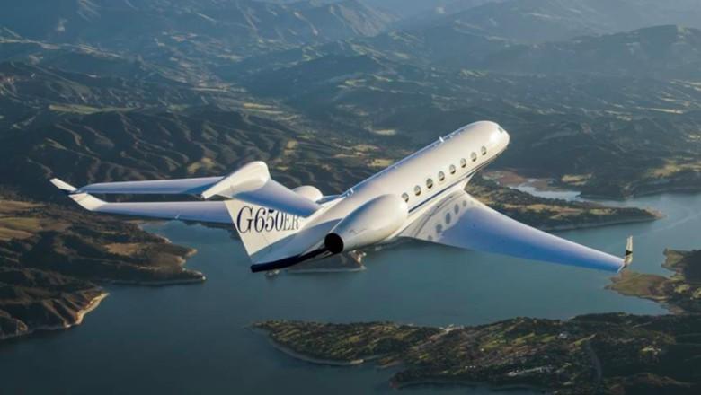 Pesawat Gulfstream G650ER