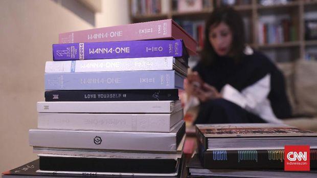 Album-album K-Pop seperti milik Shelomita dijual ratusan ribu per unit.