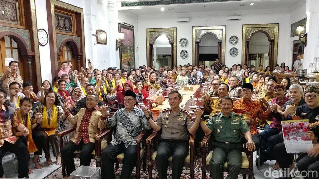 Jelang Imlek, Oded Kumpulkan Tokoh Tionghoa di Pendopo Bandung