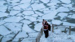 Cuaca Ala Kutub di Amerika Serikat Sebabkan Hal-hal Unik Seperti Ini