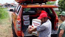 Pertamina Salurkan Bantuan Ke Korban Banjir Kudus dan Pekalongan