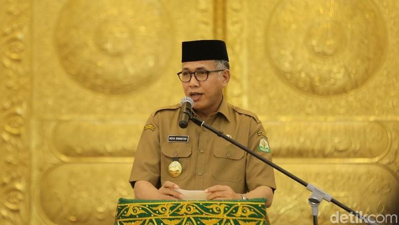 Plt Gubernur Aceh Imbau Warganya Tak Ikut People Power