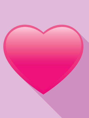 Ilustrasi emoji love