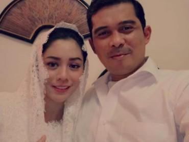 Saphira dan suaminya, Rico Hidros Daeng juga menggelar acara empat bulanan di rumah mereka pada bulan Desember lalu. (Foto: Instagram @saphira_indah)