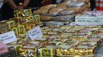 BNN Pamerkan 1,4 Ton Ganja Jaringan Aceh