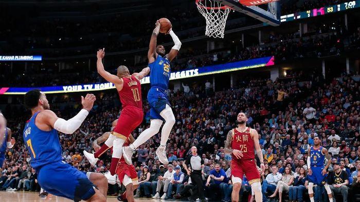 Denver Nuggets menang atas Houston Rockets (Foto: Isaiah J. Downing-USA TODAY Sports)