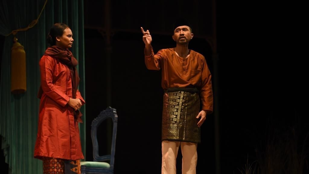 Pentas Nyanyi Sunyi Revolusi Ceritakan Sejarah yang Luput dari Amir Hamzah