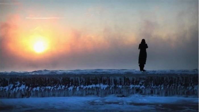 Polar vortex: Apakah suhu dingin ekstrem AS disebabkan pemanasan global?