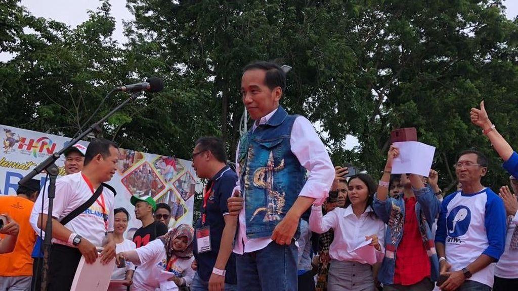 Cak-Jancuk Sapaan Jokowi di Jatim