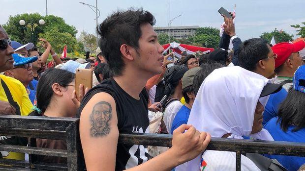 Fernando Tato Wajah Jokowi di Lengan Kanannya: Beliau Sosok Tulus