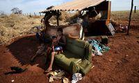 Suku Guarani yang angkat kaki dari wilayahnya dan malah hidup terlantar (Reuters)