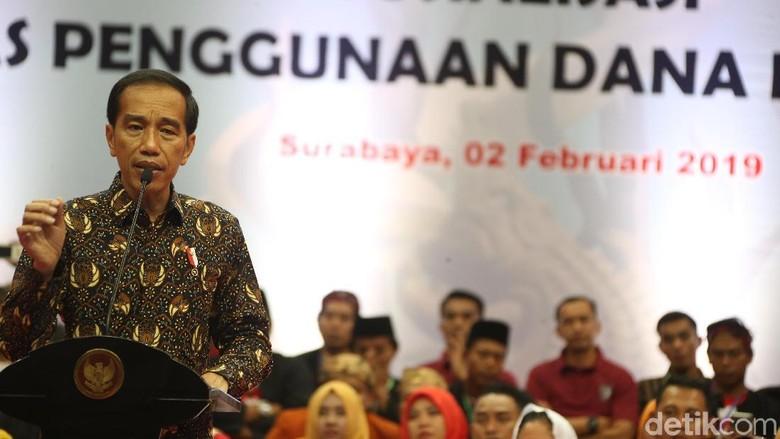 Hadiri HUT PHRI, Jokowi Cabut Larangan Mendagri Tak Boleh Rapat di Hotel