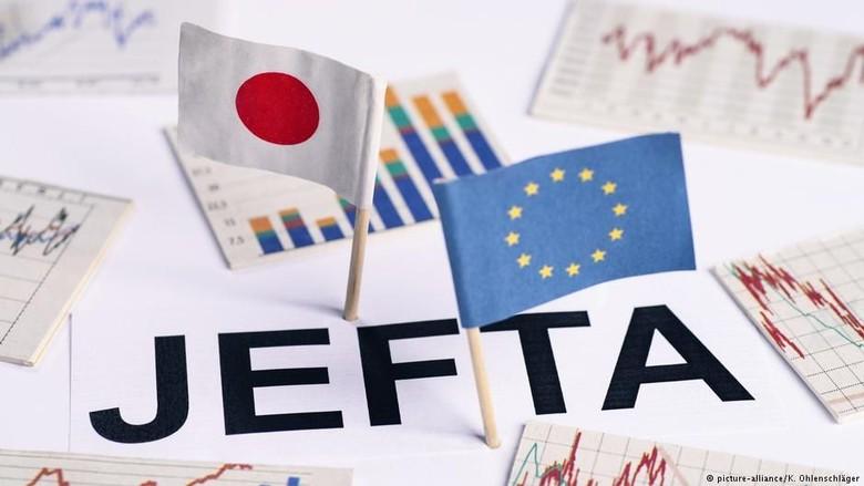 Uni Eropa dan Jepang Bentuk Zona Perdagangan Bebas Terbesar Dunia