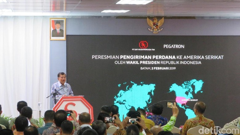 JK Resmikan Pengiriman Perdana Fast Router Made in Indonesia ke AS