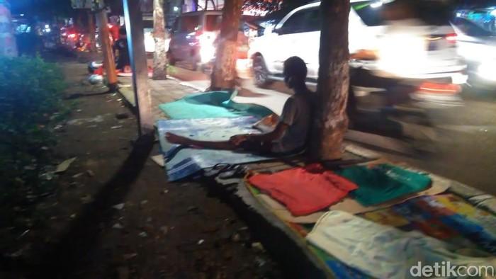 Pengungsi pencari suaka di Kalideres, Jakarta Barat (Adhi Indra Prasetya/detikcom)