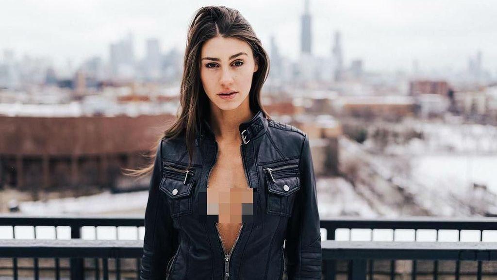 Musim Salju Ekstrem, Influencer Ini Tuai Kontroversi Foto Pakai Baju Renang