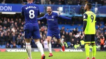 Hasil Liga Inggris: Chelsea Hajar Huddersfield