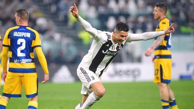 Ronaldo diklaim jadi lebih bahagia selama berada di Juventus. (
