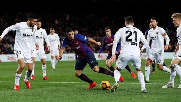 Barcelona wajib menang atas Valencia.