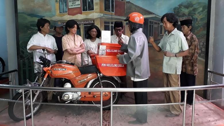 Foto: Museum Pos Indonesia di Bandung (Satria Nandha/detikTravel)
